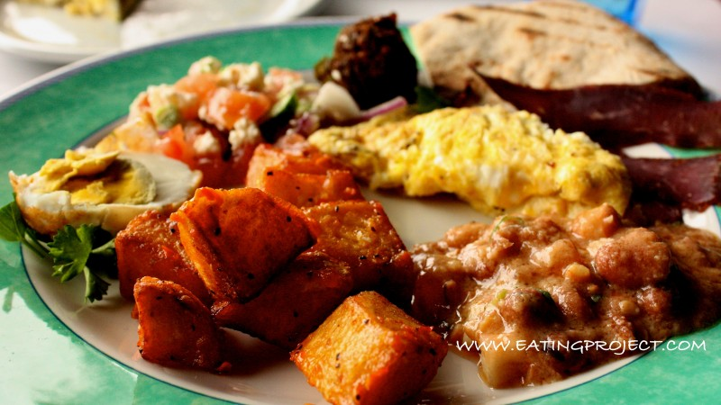 an egyptian breakfast