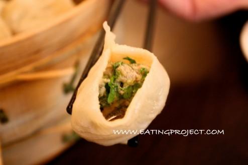 lamb & coriander dumpling