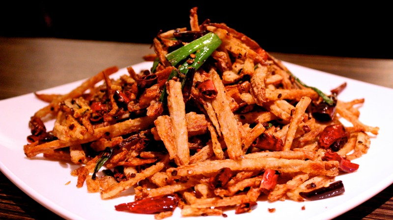 lotus root fries